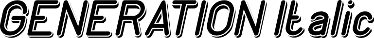 Preview image for GENERATION Italic