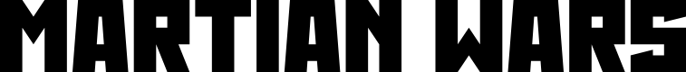Preview image for Martian Wars Font