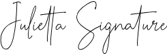 Preview image for Julietta Signature Font