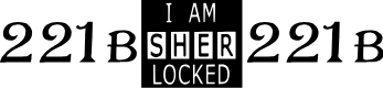 Preview image for I AM SHERLOCKED Font