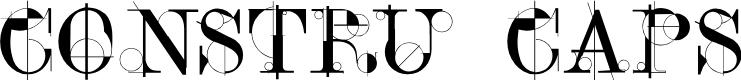 Preview image for ConstruCaps Font