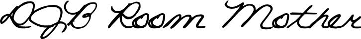 Preview image for DJB Room Mother Font