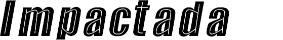 Preview image for Impactada Font