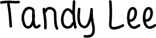 Preview image for Tandy Lee Font