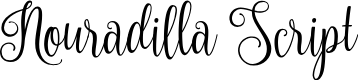 Preview image for Nouradilla Font