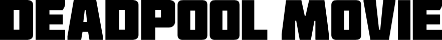 Preview image for Deadpool Movie Font
