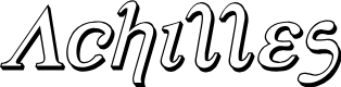 Preview image for Achilles 3D Italic