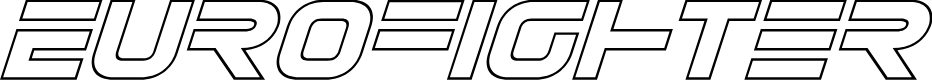 Preview image for Eurofighter Outline Italic
