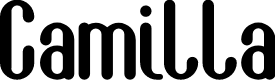 Preview image for Camilla Font