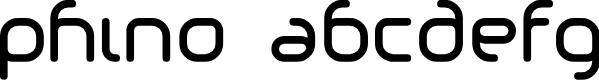 Preview image for Phino Font