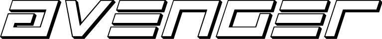 Preview image for Avenger 3D Italic