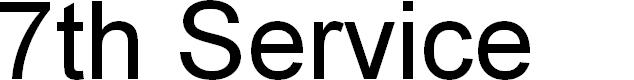 Preview image for 7th Service Super-Italic