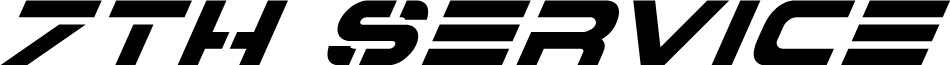 7th Service Super-Italic