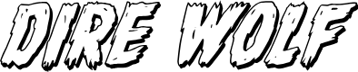 Preview image for Dire Wolf 3D Italic