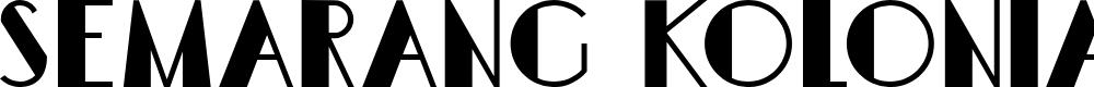 Preview image for DKSemarangKolonial Font
