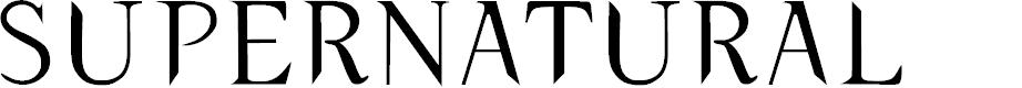 Preview image for typernatural Font