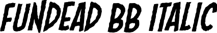 Fundead BB Italic