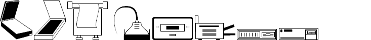 Preview image for Computer Dingbats Font