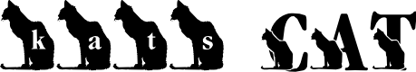 Preview image for LMS Kat's Cat Font