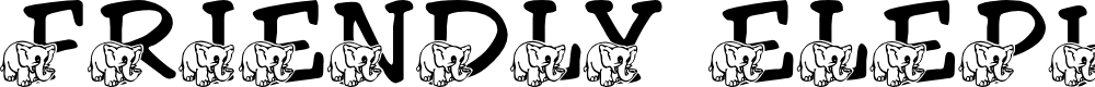 Preview image for LMS Friendly Elephant Font