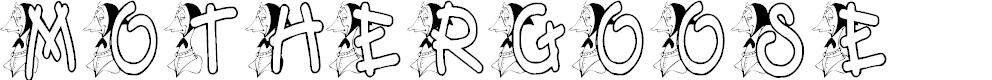 Preview image for KG MOTHERGOOSE Font