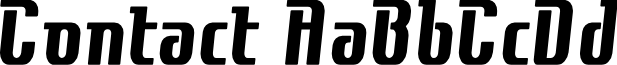 Contactbold