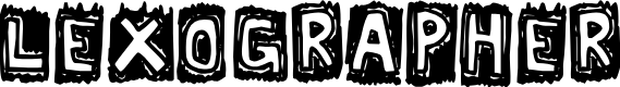 Preview image for Lexographer Font
