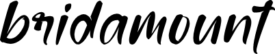 Preview image for bridamount Font