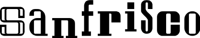 Preview image for Sanfrisco Font