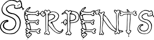 Preview image for Serpents Font