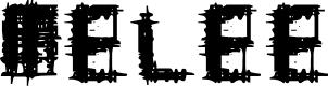 Preview image for Melee Regular Font