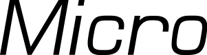 Preview image for MicroFLF-Italic