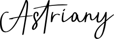 Preview image for Astriany Font