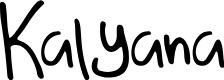 Preview image for Kalyana Font