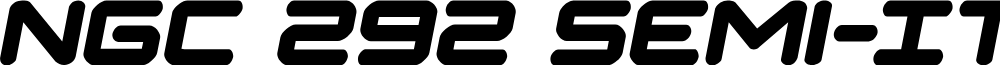 NGC 292 Semi-Italic