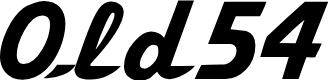 Preview image for Old54 Regular Font