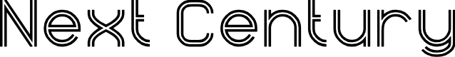 Preview image for Next Century Font