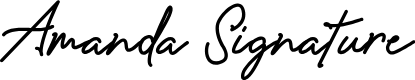Preview image for Amanda Signature Font