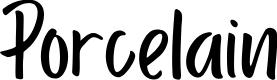 Preview image for Porcelain Font