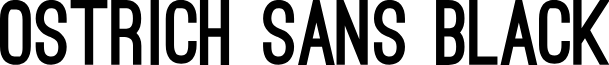 Ostrich Sans Black