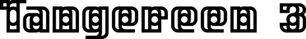 Preview image for Tangereen 3 Regular Font