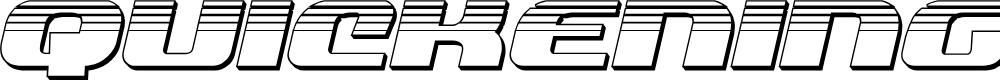 Preview image for Quickening Platinum Italic