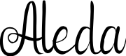 Preview image for Aleda Font