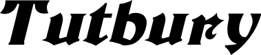 Preview image for Tutbury Bold Italic