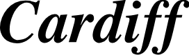 Preview image for Cardiff Bold Italic
