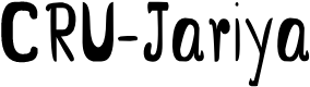Preview image for CRU-Jariya Font