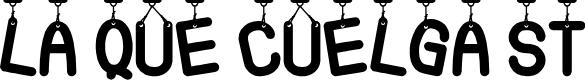 Preview image for La Que Cuelga St Font