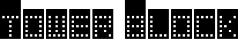 Preview image for Tower Block Font