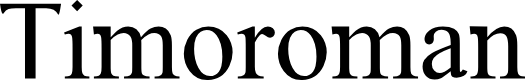 Preview image for Timoroman Font