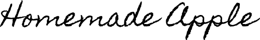 Preview image for Homemade Apple Font